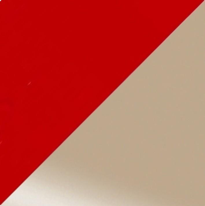 Рубин глянец/Кофе с молоком глянец