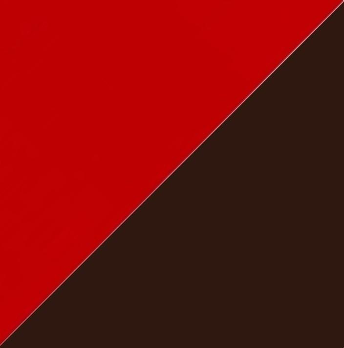 Рубин глянец/Шоколад глянец