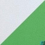 Белый металлик/Зеленый металлик