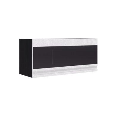 Шкаф горизонтальный со стеклом ШВГС-800 «Бруклин» (иц)