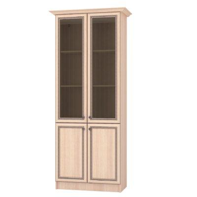 Шкаф с витриной ЖГШ-1С Жасмин (т)