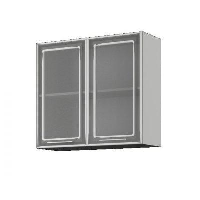 Шкаф со стеклом ШВС-800 (иц)