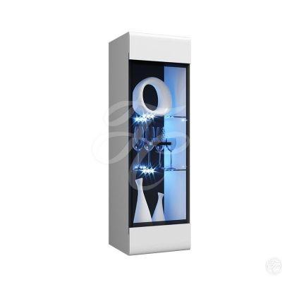 Пенал-стекло навесной (исп 2) Нэнси NEW (м)