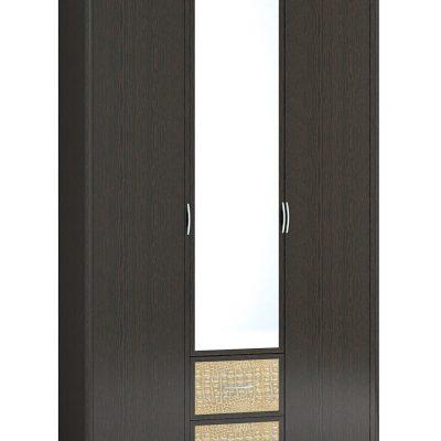 Шкаф 3-х створчатый с зеркалом ДСШ-6(3) «Джульетта» (т)