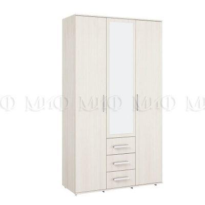 Шкаф 3-х створчатый «Белла» сандал (м)
