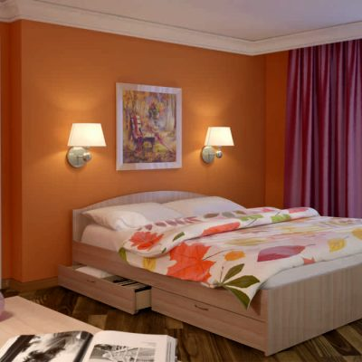 Кровать «Веста» 1,6х2 (рн)