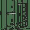 «Тиффани» М22 Шкаф с зеркалом (4 двери) (рн)