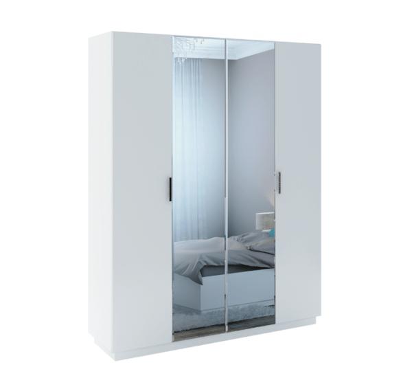 """""""Тиффани"""" М22 Шкаф с зеркалом (4 двери) (рн)"""