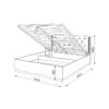 «Тиффани» М26 Кровать 1,4 с ПМ (рн)