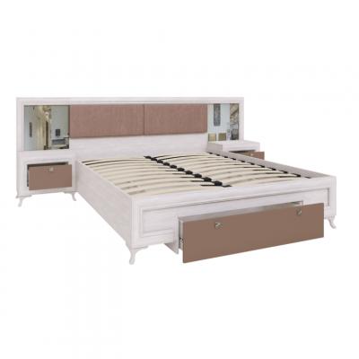 МС Саванна М06 Кровать с ортопедическим основанием 1,6 м. (рн)