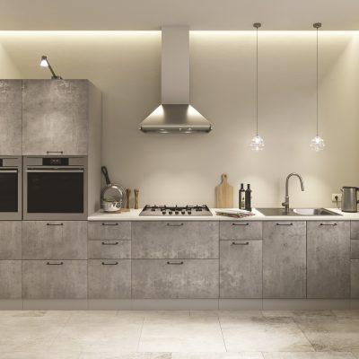 Модульная кухня «Лофт» 4000 мм. (Д)