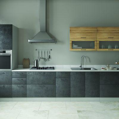 Модульная кухня «Лофт» 4800 мм. (Д)