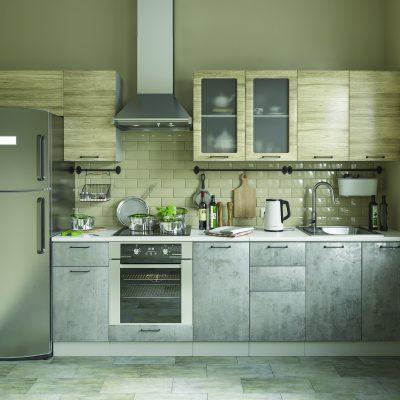 Модульная кухня «Лофт» 3200 мм. (Д)