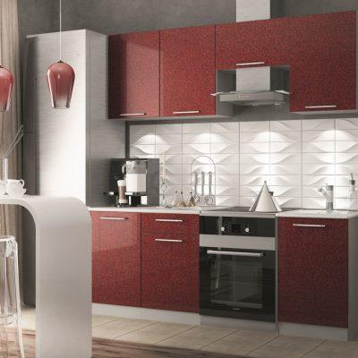 Модульная кухня «Олива» 2100 мм. (Д)