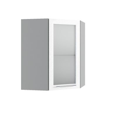 """""""Олива"""" Шкаф угловой высокий со стеклом ВПУС-550*550 (Д)"""