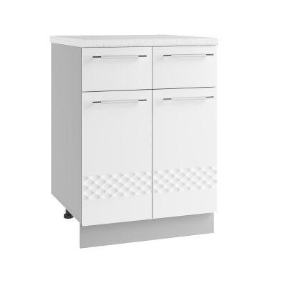 Стол 2 ящика С2Я-600 (Д)