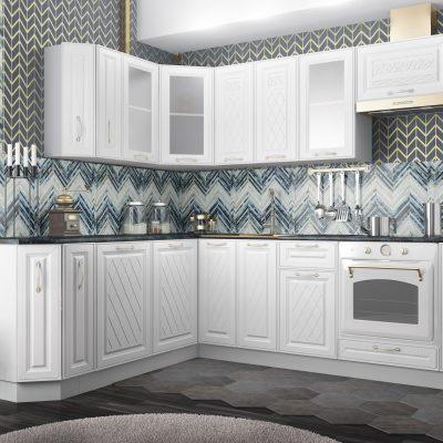 Модульная кухня «Вита» угловая 1 (Д)