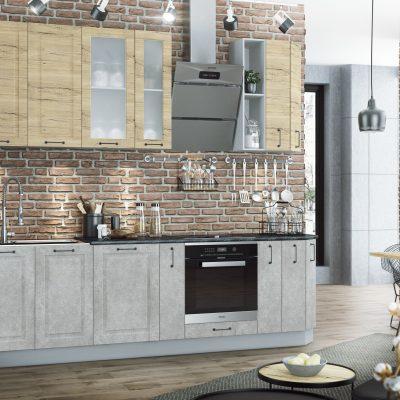 Модульная кухня «Капри» 2700 мм. (Д)
