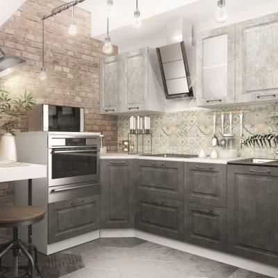 Модульная кухня «Капри» угловая 5 (Д)