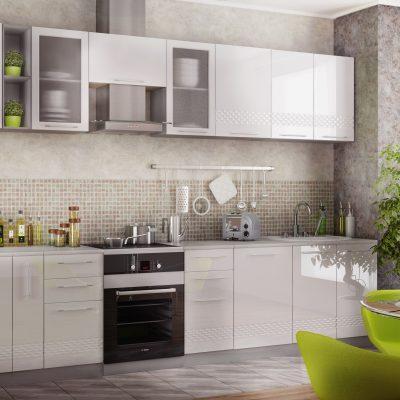 Модульная кухня «Капля» 3300 мм. (Д)