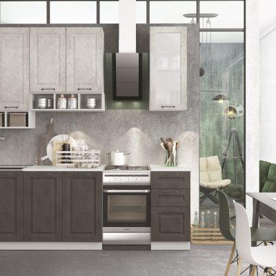 Модульная кухня «Капри» 2000 мм №1. (Д)