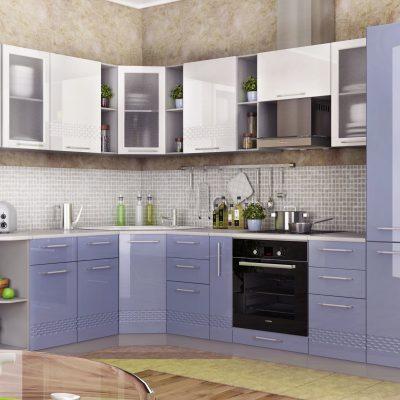 Модульная кухня «Капля» угловая 2 (Д)