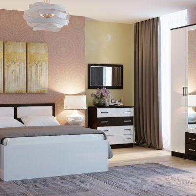 Спальня «Беатрис» композиция 3 (п)