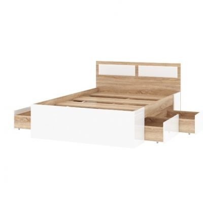 «Беатрис» Кровать с ящиками (п)