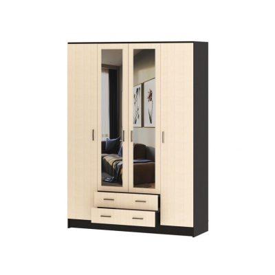 Шкаф 4-х дверный «Квадро» (п)