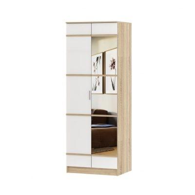 «Сакура» Шкаф 2-х створчатый с зеркалом (п)