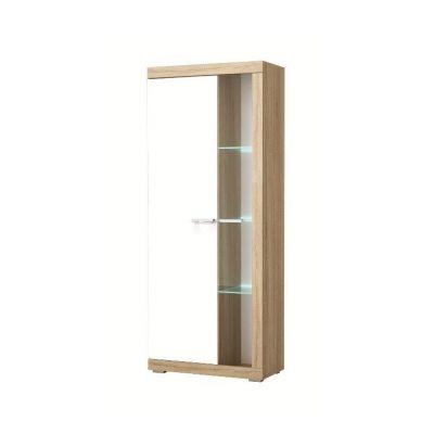 «Соната» Шкаф-витрина ШВС-800 глянец (п)