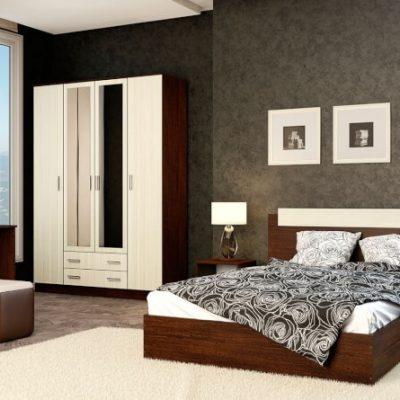 Спальня «Эко» композиция 3 (э)