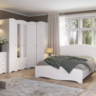 Спальня «Флора» композиция 1 (иц)