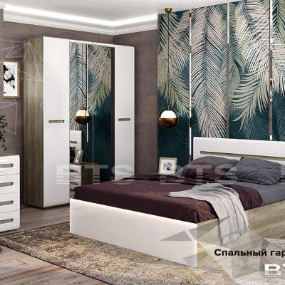 Спальня «Наоми» композиция 3 (б)