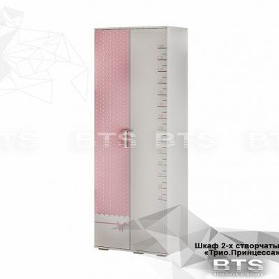 «Трио Принцесса» Шкаф для одежды ШК-09 (б)