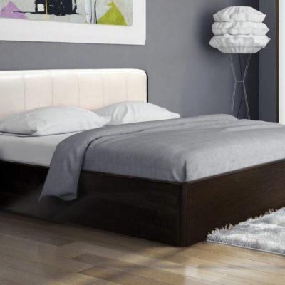 Кровать 1,6 арт.003 Вставка 1 с настилом (ДЛ)
