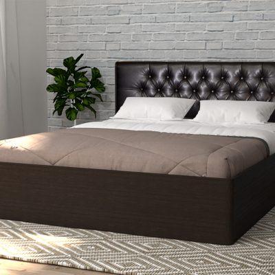 Кровать 1,4 арт.003 Вставка 2 с настилом (ДЛ)