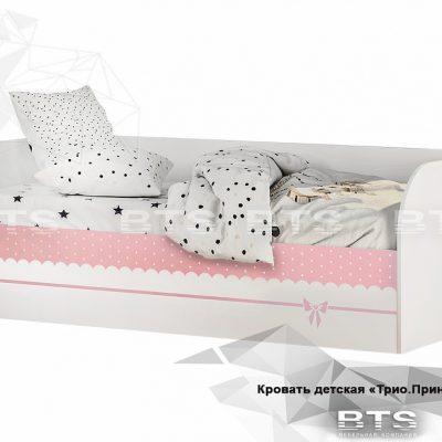 «Трио Принцесса» Кровать детская КРП-01 (б)