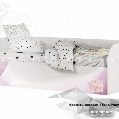 «Трио Рапунцель» Кровать детская КРП-01 (б)