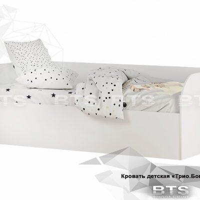 «Трио Бонжур» Кровать детская КРП-01 (б)