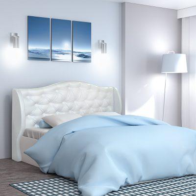 Кровать «Классика» 1,4 арт.002 с настилом (ДЛ)