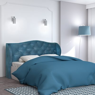 Кровать «Классика» 1,6 арт.002 с настилом (ДЛ)