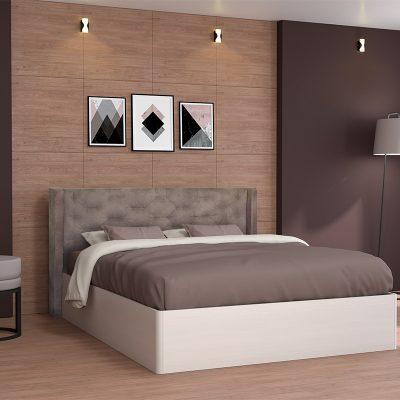 Кровать «Модерн» 1,6 арт.002 с настилом (ДЛ)