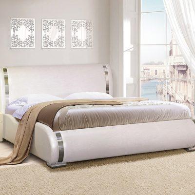 Кровать «Стелла» 1,6 мягкая арт.017(ДЛ)