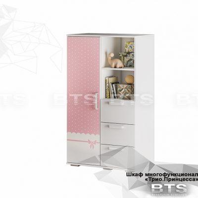 «Трио Принцесса» Шкаф многофункциональный ШК-10 (б)