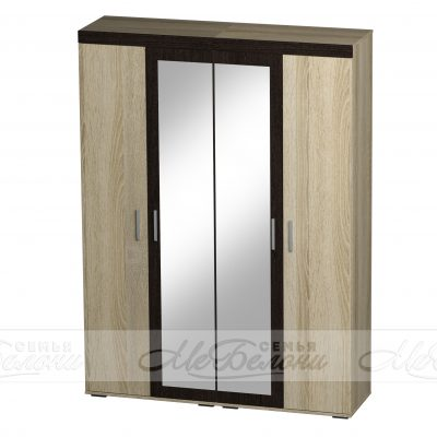 «Либерти» Шкаф 4-х створчатый ШК-11 (б)