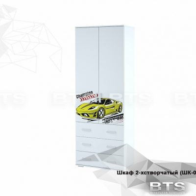 «Тойс Чемпион» Шкаф 2-х створчатый ШК-07 (б)