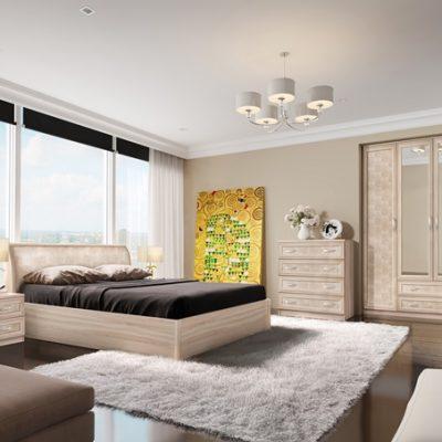 Спальня «Кэт-1» Снейк композиция 1 (дл)