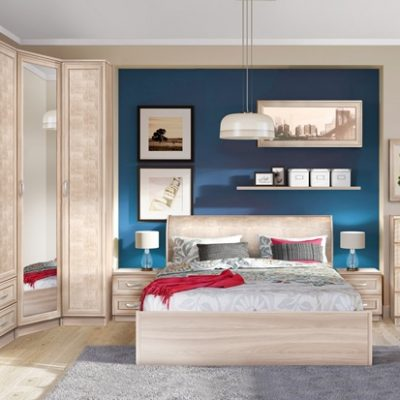 Спальня «Кэт-1» Снейк композиция 2 (дл)