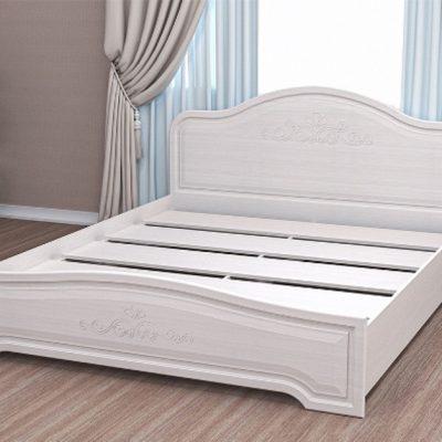 «Кэт-6» Кровать настил ЛДСП низкий щиток (дл)